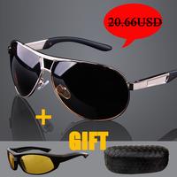 Hot selling!!! Men's fashion Male sunglasses polarized sunglasses oculos de sol sport male glasses mirror driver driving mirror