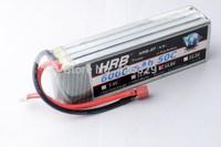 Free shipping HRB Lipo battery 14.8V 6000Mah 50C 4S 4 Cells 14.8 Volt Lipo battery Li-poly Max 55C RC lipo battery