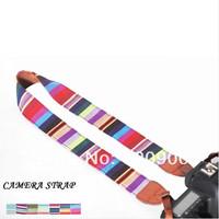 100% GUARANTEE Vintage Camera Shoulder Neck Strap Belt For  Nikon Canon Sony Panasonic Casio SLR DSLR NO.56