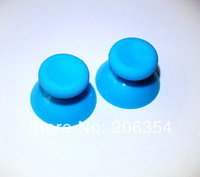 Free Shipping ,10pcs Light Blue thumbstick/analog stick/replace part/Thumb Joysticks for Xbox One controller(Black)