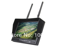 "SKYZONE LCD Screen Receiver Monitor Brand Boscam FPV RX-LCD5802 5.8 GHz HD 7"" 800*480 Built-in Battery Free Shipping 200301"