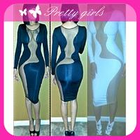 bodycon peplum dress,fashion bodycon dress,long sleeve velvet bodycon dress