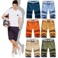 New 2014 Hot-selling Men Summer Shorts Sport Bermuda Shorts Men's 100% Cotton Cargo Casual Shorts Free Shipping