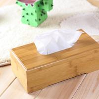 Miucolor meters fashion eco-friendly self-shade bamboo tissue box home car wool pumping paper box