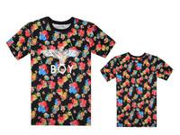 2014 Boy girl Tee shorts, Fashion eagle boy london t shirt short-sleeve basic t-shirt lovers t shirt plus size classes