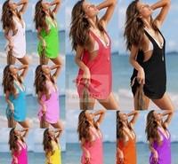 2014 new Sell like hot cakes fashion sexy  fabric cotton 11 color Strapless woman Beach dress slim swimsuit Free vest Bikini