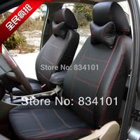 Toyota corola Vios Yaris L Vw santana lavida bora Touran polo top faux Sagitar leather car seat covers Golf 6 universal cushion