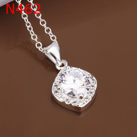Free Shipping 925 Silver fashion jewelry Necklace pendants Chains, 925 silver necklace fashion necklace N462