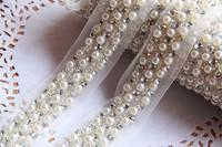Fashion beading braid ribbon lace vintage handmade diy decoration accessories 2cm
