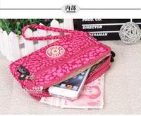 KP-071 Newly waterproof nylon brand zipper pencil case pen bag or use as lady cosmetic bag key wallet makeup bag free shipping