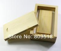 Magnet Bamboo Wood USB Drive 1GB 2GB 4GB 8GB 16GB 32GB Memory Flash Thumb Stick +Bamboo Case