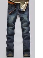 Hot 2014 fashion Spring summer  Men's jeans light denim Men's pants men plus size large size 42 40