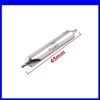 Free shipping 1.5mm x 6mm x 45mm HSS Electrical B Type Center Drill Bits Gray10pcs