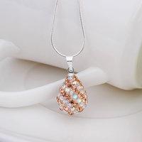 Fashion Jewelry Shamballa Necklace New Tresor Paris Allure CZ Disco Ball Bead SBN078