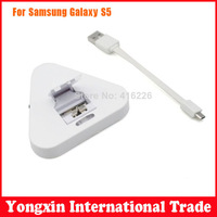 Free Shipping micro usb charger Desktop Dock Cradle OTG Charger + USB Cable For Samsung Galaxy S5 SV i9600