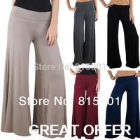 2014 New Pants,Wide Leg Pants,Yoga Dance Women Pants,Loose Palazzo Bottoming pants,Bing Swing 5 colour leggings