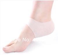 Silicone GeL Heel Dry Hard Cracked Skin Moisturising Open Toe Comfy Socks