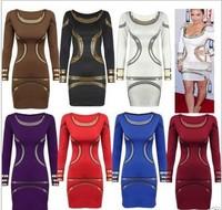 happy SZ Fashion summer Women prints sexy Clubwear Dress european and american hot selling free size SD0001
