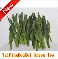 100g New 2014 Early Spring Organic Green Tea Taipinghoukui Tea Taiping Kowkui Loose Tea For Health Care Product  Free Shipping