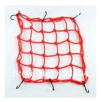 1 pc FREE SHIPPING! Motorcycle accessories TANKED TKD RACING 6 Hooks Motorcycle Bungee Cargo Net Helmet Net