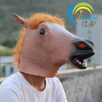 Fashion gangnam animal wigs dog horse mask buck Christmas unicorn