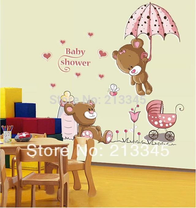 Achetez en gros douche de b b de dessin anim en ligne for Bricolage chambre bebe