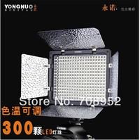 Yongnuo YN-300 II Studio Video Light LED Photo light Adjust Illumination Dimming LED Video Light for DSLR + Remote Free shipping