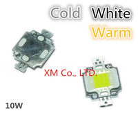Free shipping!10W LED Integrated High power LED Beads White/Warm white 900mA 9.0-12.0V 900-1000LM 24*40mil Taiwan Huga Chips