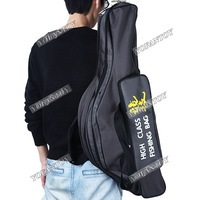 High Quality 80cm 3-Layer Fishing Bag Canvas Fishing Rod Pole Bag Hard Shell Durable Fishing Backpack Tackle Bag Carrying Case