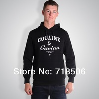 Crooks and Castles Cocain & Caviar Hoody MEN Hoodie Hip Hop Hoodie (For Autumn and Winter)