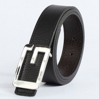 2014 fashionable man temperament of cultivate one's morality high-grade belt /Men's pure color leisure belt