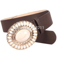 Women's APACHE Belts White Rhinestones VINTAGE Belts For Women