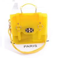 Fresh 2014 women's candy color handbag jelly bag cross-body handbag m008  women messenger bag