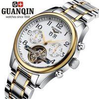 Guaranteed Original Designer Tourbillon Watches men luxury brand Sapphire Waterproof mechanical Wristwatches fashion HK watch