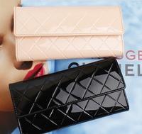 New Spring 2014 Women Wallets Change Purse Women Clutch Genuine Leather Wallet Woman Magic Brand Wallet Hand Purse Clutch Purses