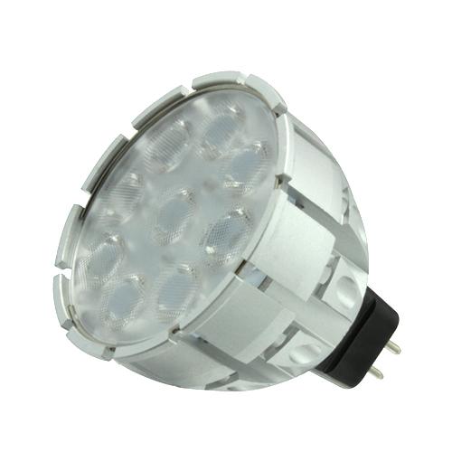 Interior regulable de luz led 8w mr16 led spotlight, nichia chip