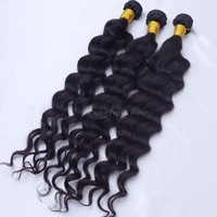 Peruvian virgin hair deep wave rosa hair products  3pcs/lot unprocessed 100% human hair free shipping