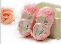 GXR Baby Shoes Spring Summer Soft Lace Rose Flower Toddler Shoes First Walker Princess Shoes 4Pair/lot GX147