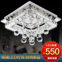 111 Wowled crystal lamp brief living room lights ceiling light modern fashion light restaurant rectangle hall lights