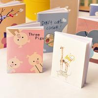 18 pcs/pack Cartoon mini pocket-size memo pad book tsmip student stationery 7169