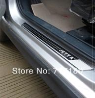 high quality 2013 VW Volkswagen Jetta MK6 MK5 ultrathin stainless steel door sill scuff plate VW accessories 4pcs