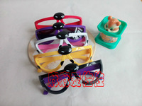 Child spring multicolour fashion ladybug accessories glasses frame