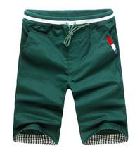 Men s Shorts Causual Loose Cotton Rope Shorts 2014 Beand New Men Short Plus Size M