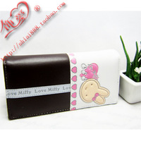 Cartoon wallet long design wallet soft child women's wallet