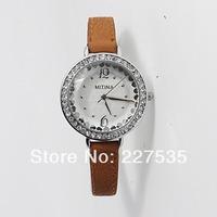 Free shipping fashion leisure Woman Luxury Fashion diamond watches quartz watch