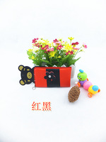 2013 mini bag women's handbag mobile phone bag coin purse day clutch zipper small flower color block decoration bag