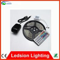 5M RGB LED Strip 3528 SMD 60 Leds/M Waterproof Strip light With 44 Keys IR Controller Diode LED Tape Lights Ribbon String