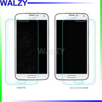 Real! Explosion Proof LCD Clear Front Premium Tempered Glass Screen Protector Protective Film For Samsung S5 I9600