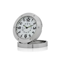 Free shipping Mini Table Clock Hidden Camera With Motion Detection