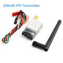 Free shipping Boscam 5 8Ghz 200Mw FPV Video Audio Wireless transmitter TS351 AV TX Transmitter Channels